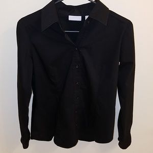 NY & Co Black Button Up